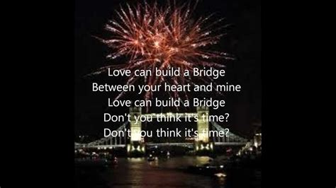 Love Can Build a Bridge - WESTLIFE - YouTube