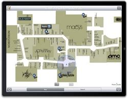 Leading iPhone® Mall Map App Point Inside Among First Apps