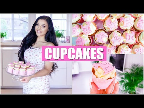 ROSA HJERTE CUPCAKE PYNT - Passion For baking