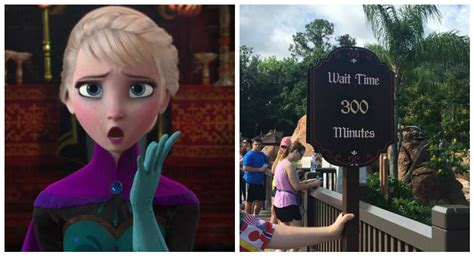 "The new ""Frozen"" ride at Disney World is open and has a"