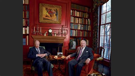 David Rockefeller and Jacob Rothschild's Business Deal