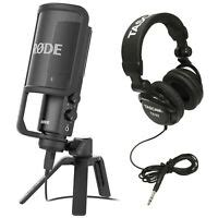 Rode NT1-A Condenser Microphone with PSA1 Boom Arm