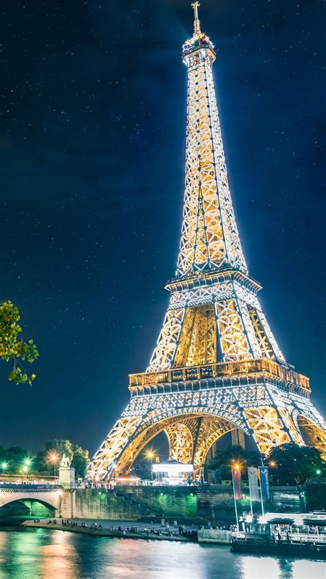 Wallpaper Eiffel Tower, Paris, HD, 5K, World, #8100