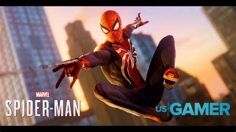 Spider Man PS4 Gameplay - 17 Minutes of Web-Swinging