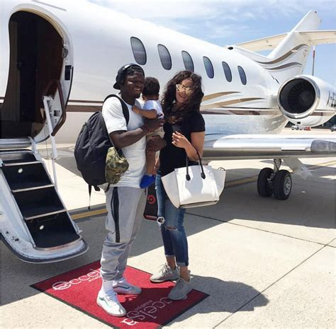 LIFESTYLE: Sulley Muntari flies wife and son on private