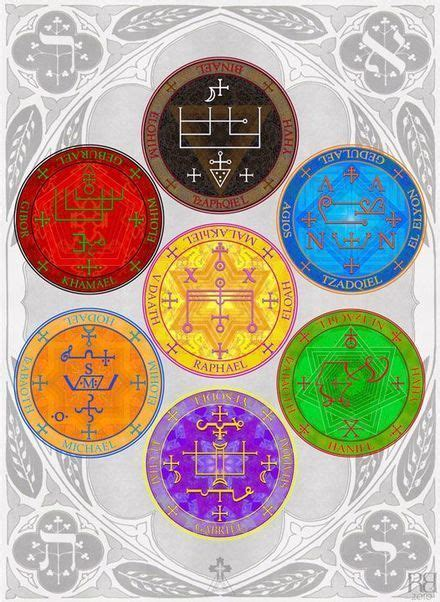 The Seals of The Seven Archangels | Seven archangels