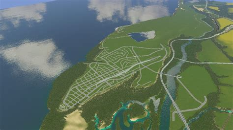 I like building road layouts since my computer can't