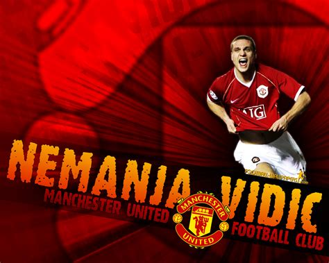 Nemanja Vidic | Manchester United Wallpaper