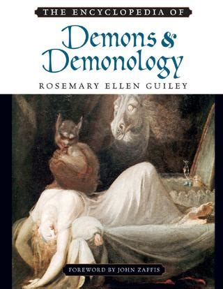 Encyclopedia of Demons and Demonology by Excelentisimo