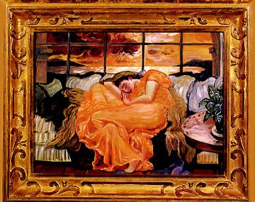Joni Mitchell - Flaming June Revisited - paintings