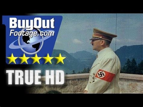HD Historic Stock Footage WWII Color - ADOLF HITLER - EVA