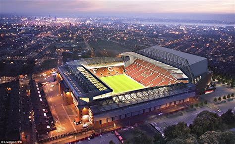 Liverpool to begin Anfield expansion work on Monday with