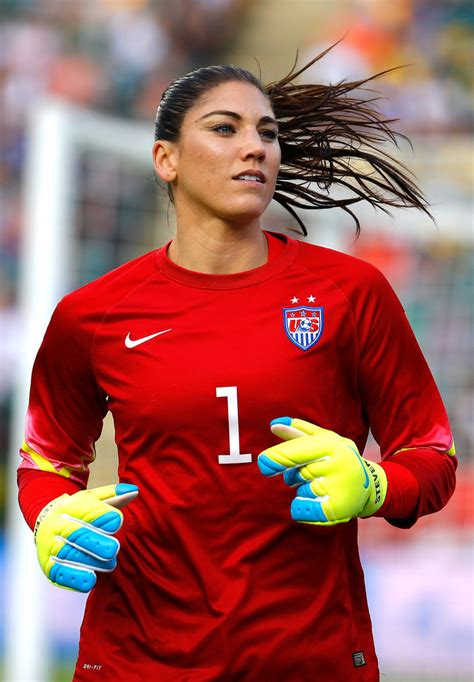 Hope Solo - Hope Solo Photos - United States v Colombia