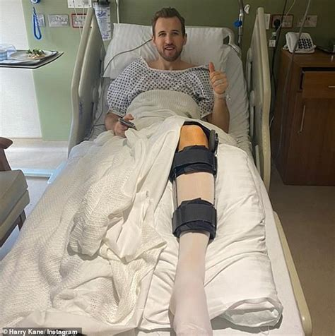 Harry Kane begins his rehabilitation from injury after