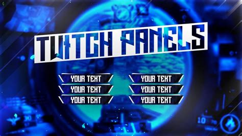 Tutorial: Vibrant Twitch Panels (Photoshop CC) - Behr