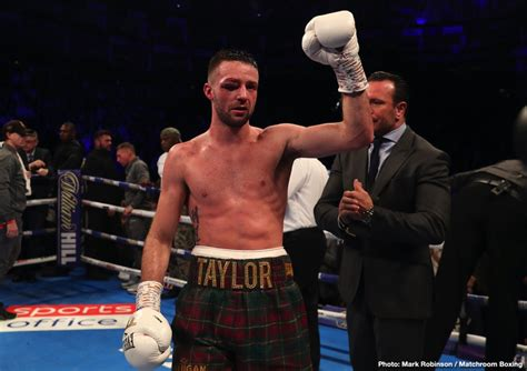 Josh Taylor with excellent options for next fight ⋆ Boxing