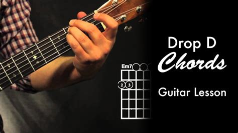 Drop D Chord Shapes - YouTube