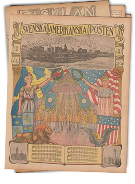 Swedish American Newspapers | Minnesota Historical Society