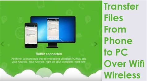 Transfer Files From Android Phone to PC Wifi | Without USB