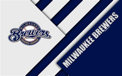Download wallpapers Milwaukee Brewers, MLB, 4k, National