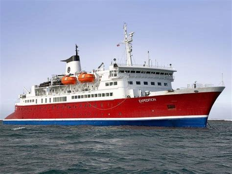 MS Expedition - Itinerary Schedule, Current Position