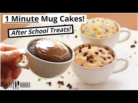 Eggless Chocolate Mug Cake Recipe | 2 Minute Microwave