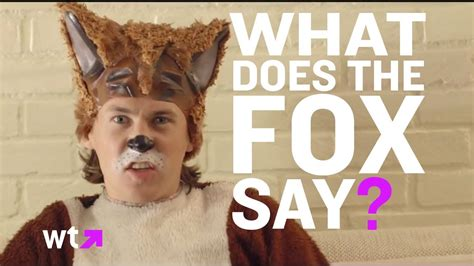 Norway's Ylvis Teaches What The Fox Says   What's Trending