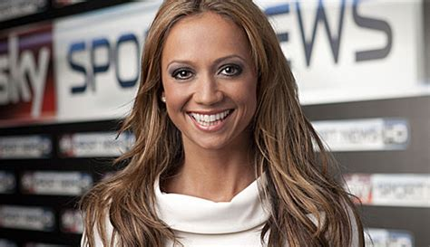 Sky Sport News HD Head Anchor Kate Abdo im Interview