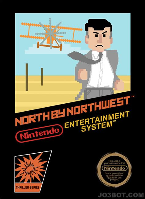 Alfred Hitchcock Movies As Nintendo Game Box-Art - Geekologie