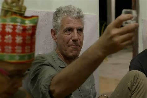 Watch Anthony Bourdain Get a Painful Tattoo in Borneo - Eater