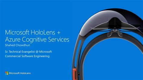 Cloud-Backed Mixed Reality with HoloLens & Azure Cognitive