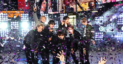 BTS Counted Down to 2020 at New Year's Eve in NYC | Time