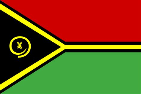 Flag Of Vanuatu Clip Art at Clker