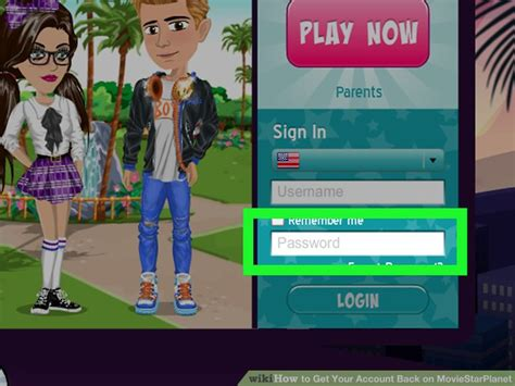 3 Ways to Get Your Account Back on MovieStarPlanet - wikiHow