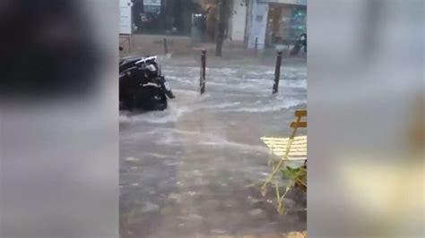 Southern France on red alert for rain floods and storm