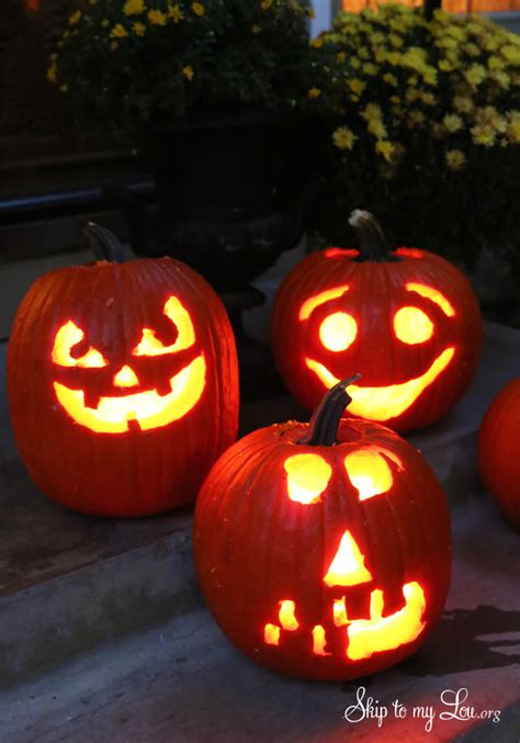Easy Pumpkin Carving Ideas and Tricks | FREE pumpkin