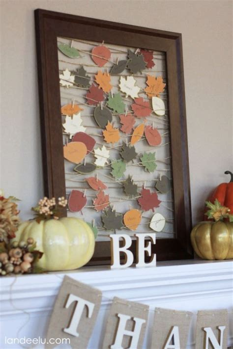 The Best Thanksgiving and Fall Crafts For Adults - Easy