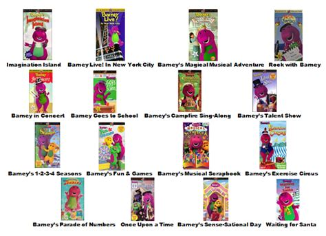 Image - Barney Home Video Classics Booklet (2000) Page 2