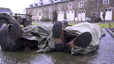 "Bastogne ""NUTS"" WW2 reenactment 2012 - YouTube"