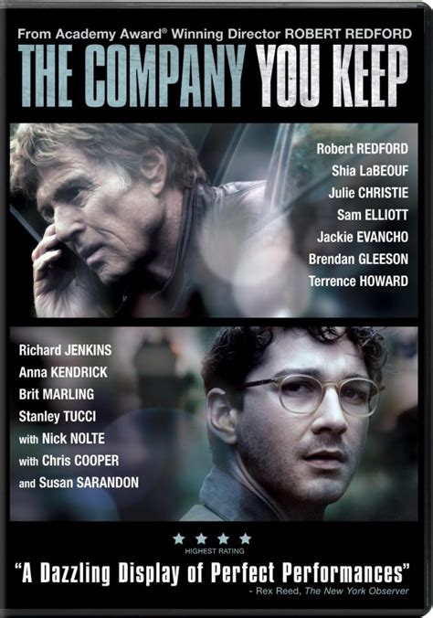 The Company You Keep DVD Review: Robert Redford Makes a