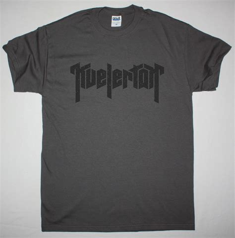KVELERTAK LOGO NEW GREY LADY T-SHIRT