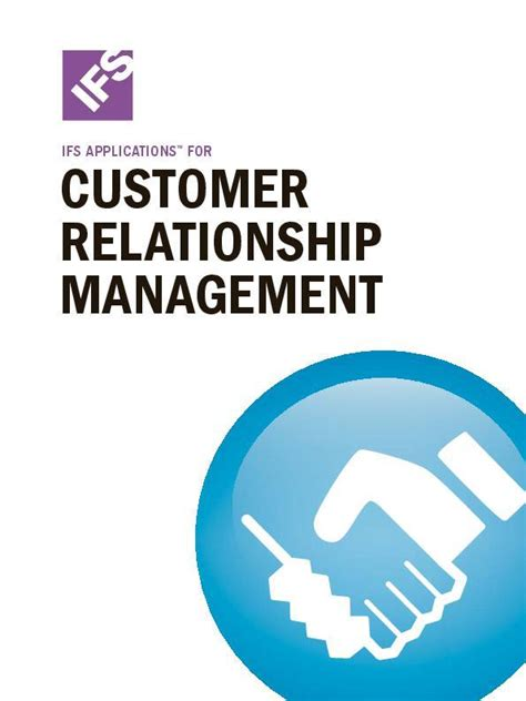IFS Applications for customer relationship management