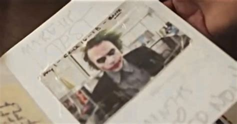 Heath Ledger diary: Late actor's Joker journal from 'The