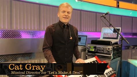 """Cat Gray, Musical Director of """"Let's Make A Deal"""