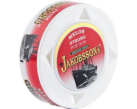 Jakobsson's Melon Strong Portion   Buy Swedish Snus from