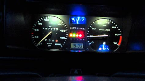 How to make a Vw Golf 2 / Jetta 2 LED TACHO PANEL Part 3