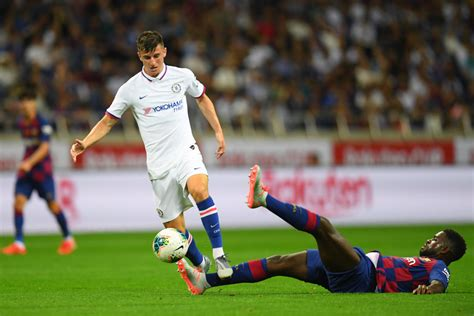 Ross Barkley is up against Mason Mount to be Chelsea's No