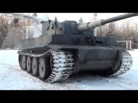 Replica of Tiger tank - YouTube