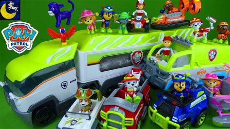 Lots of Paw Patrol Jungle Rescue Toys Jungle Paw Patroller