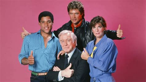 What the cast of Knight Rider is doing today